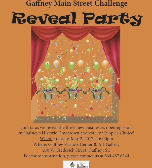 Main Street Challenge – Reveal Party